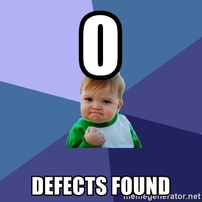 Success Kid - 0  defects found