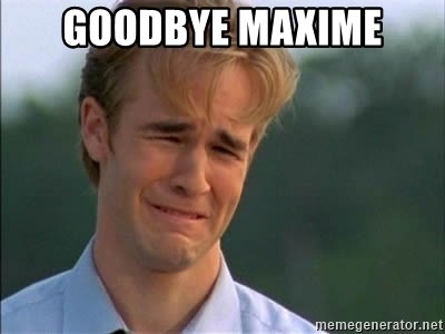 James Van Der Beek - Goodbye Maxime