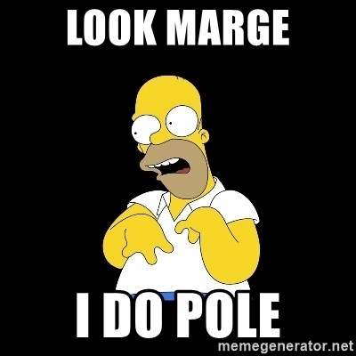 look-marge - look marge  i do pole