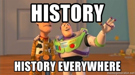 Consequences Toy Story - History History everywhere