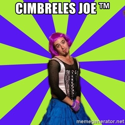 Pretentious Burner - cimbreles joe ™
