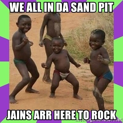african kids dancing - We all in da Sand pit JAINS ARR HERE TO ROCK