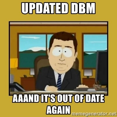 aaand its gone - Updated DBM Aaand it's out of date again