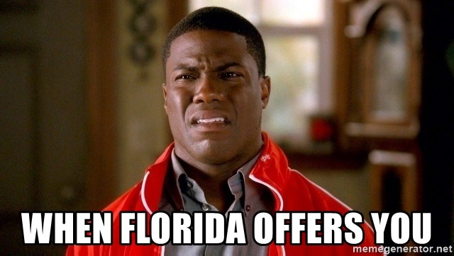 Kevin Heart Disgust - When Florida Offers You