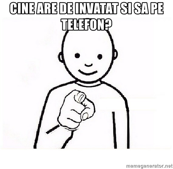 GUESS WHO YOU - Cine are de invatat si sa pe telefon?