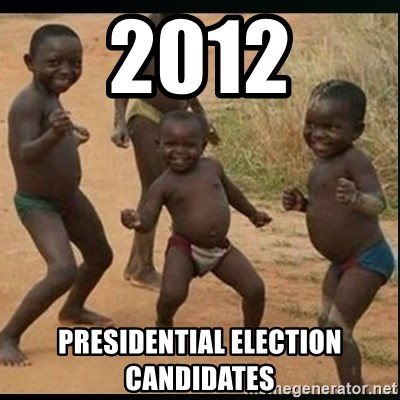 Dancing black kid - 2012 Presidential Election Candidates