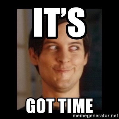 Toby Maguire trollface - It's  GOT time
