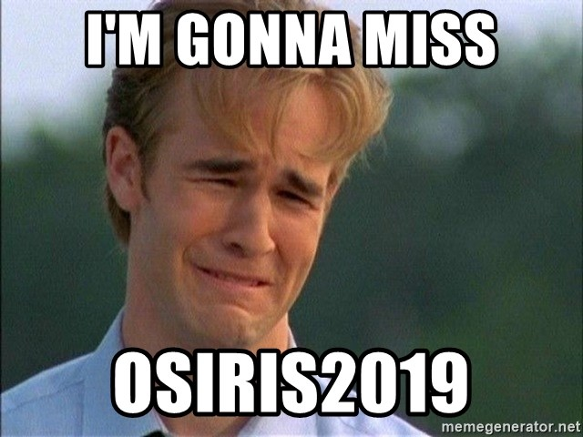 Dawson Crying - I'm gonna miss Osiris2019