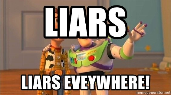 Consequences Toy Story - liars liars eveywhere!