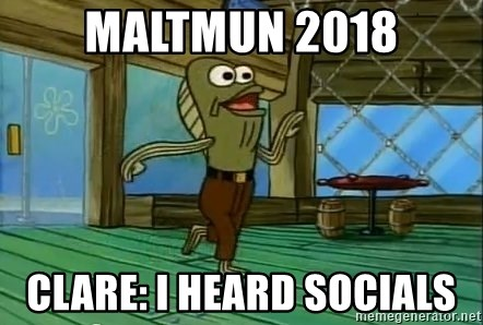 Rev Up Those Fryers - MaltMUN 2018 Clare: I HEARD SOCIALS
