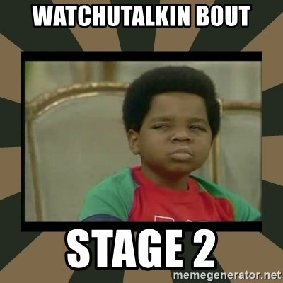What you talkin' bout Willis  - Watchutalkin bout Stage 2