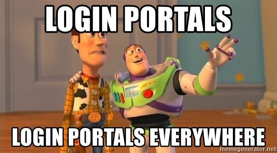 Consequences Toy Story - Login Portals Login Portals Everywhere