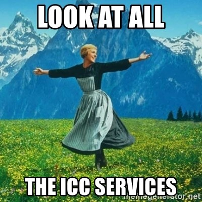 Look at All the Fucks I Give - look at all the icc services