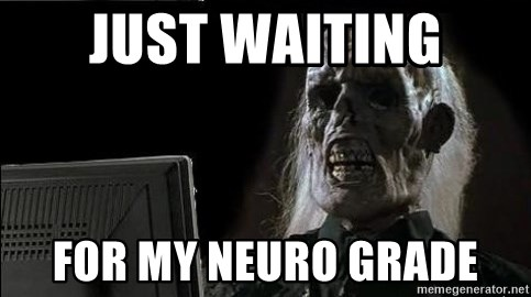OP will surely deliver skeleton - Just waiting For my neuro grade
