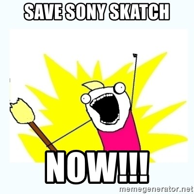 All the things - Save Sony Skatch NOW!!!