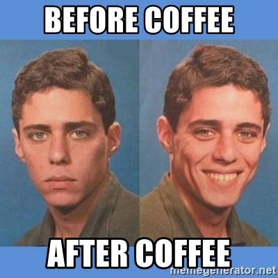 Chico Xavequeiro - Before coffee After coffee