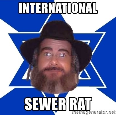 Advice Jew - international sewer rat