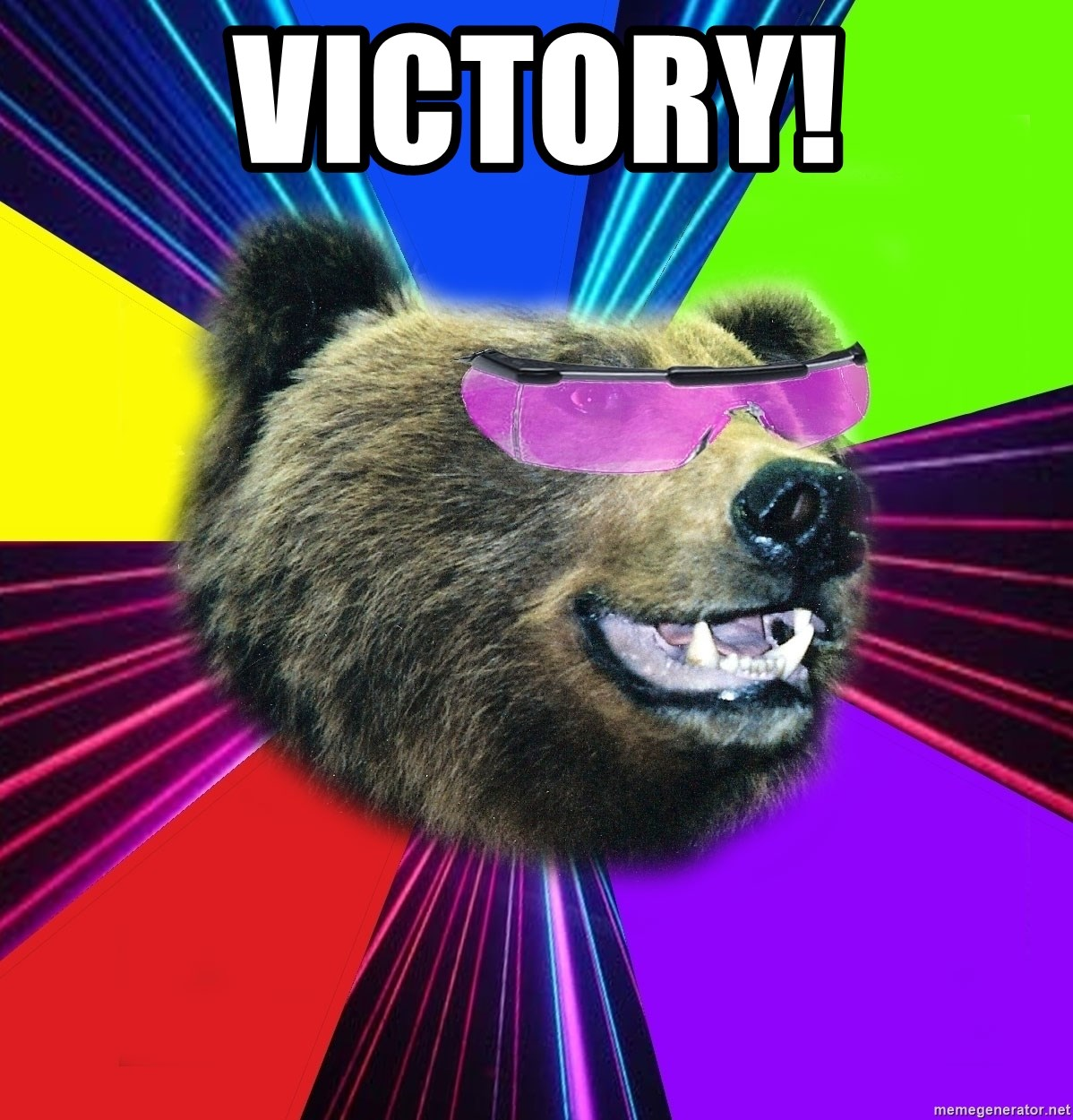 Party Bear - Victory!