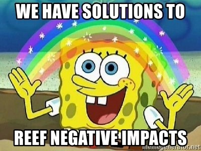 Imagination - We have solutions to reef negative impacts