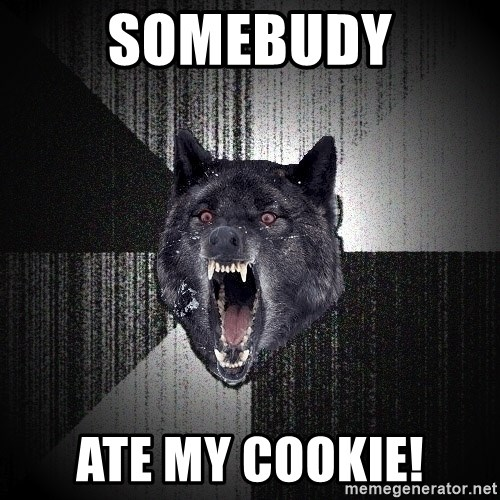 Insanity Wolf - Somebudy ate my cookie!