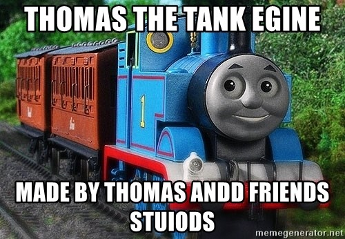 Thomas the tank engine - thomas the tank egine made by thomas andd friends stuiods