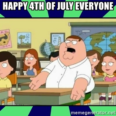 Who Cares? - Happy 4th of july everyone