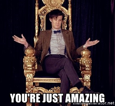Hipster Doctor Who - you're just amazing