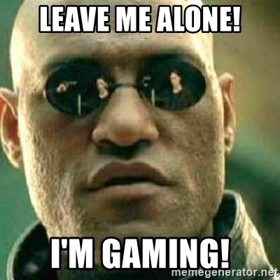 What If I Told You - LEAVE ME ALONE! I'M GAMING!