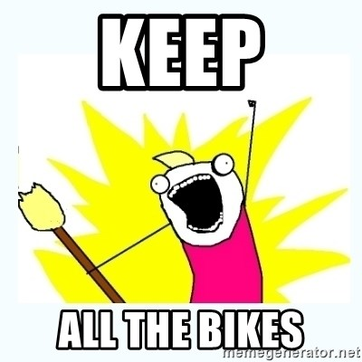 All the things - Keep All the bikes
