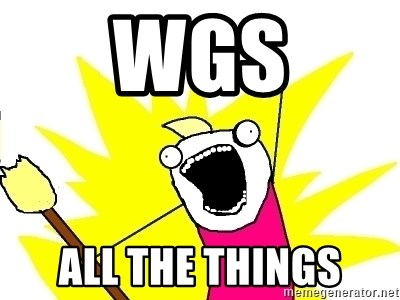X ALL THE THINGS - WGS ALL THE THINGS