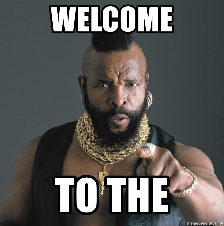 Mr T Fool - WELCOME to the
