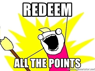 X ALL THE THINGS - redeem all the points