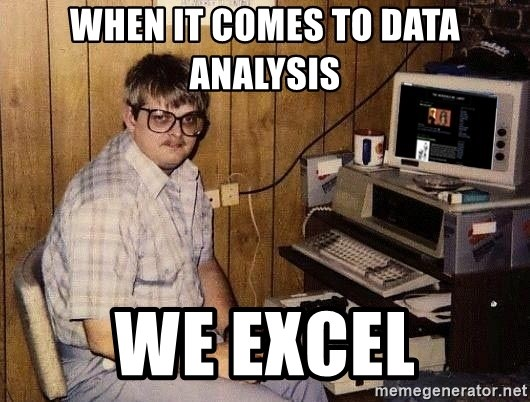 Nerd - When it comes to data analysis we excel