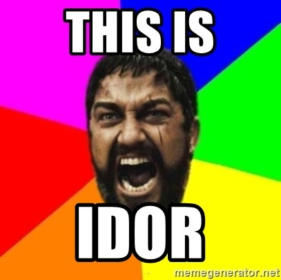 sparta - THIS IS IDOR