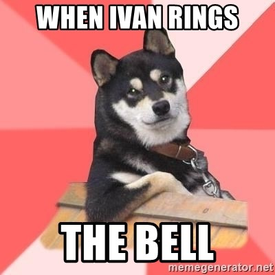 Cool Dog - when ivan rings the bell