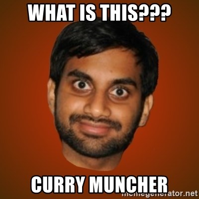 Generic Indian Guy - WHAT IS THIS??? CURRY MUNCHER