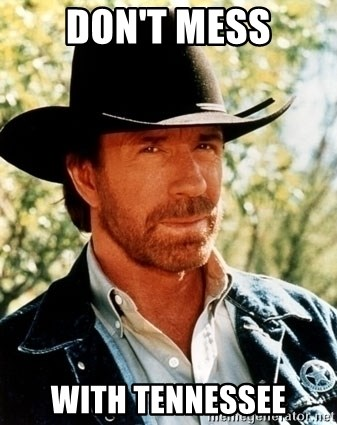 Brutal Chuck Norris - don't mess with tennessee