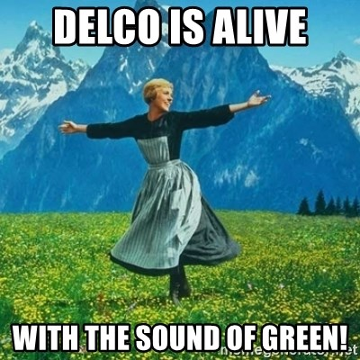 Look at All the Fucks I Give - DELCO IS ALIVE with the sound of GREEN!