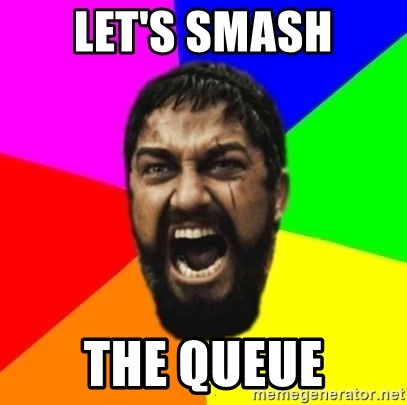 sparta - Let's smash the queue