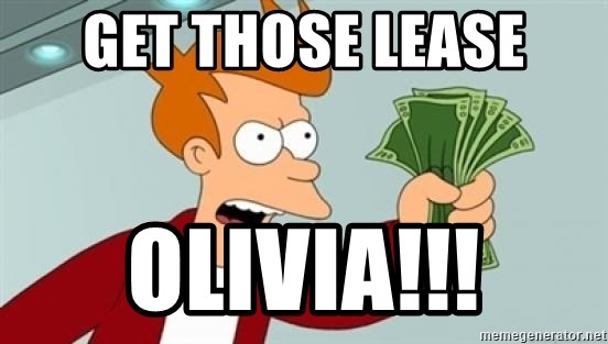 Shut up and take my money Fry blank - Get those Lease Olivia!!!