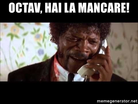 Pulp Fiction sending the Wolf - OCTAV, HAI LA MANCARE!