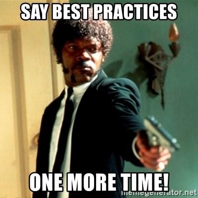Jules Say What Again - Say Best Practices One more Time!