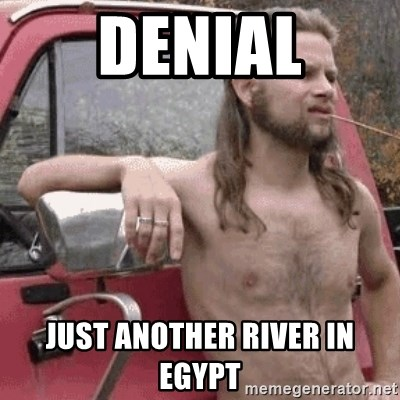 Almost Politically Correct Redneck - denial just another river in egypt