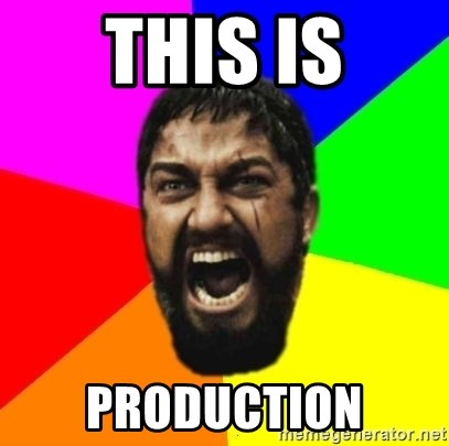 sparta - This is production