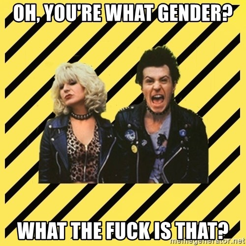 crazyParents - Oh, you're what gender? What the fuck is that?