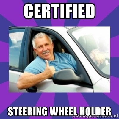 Perfect Driver - Certified  Steering wheel holder