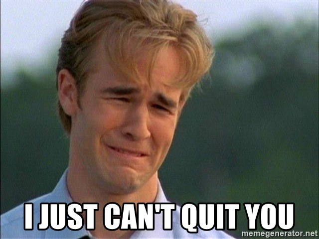 Dawson Crying - I just can't quit you