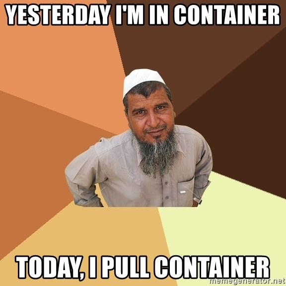 Ordinary Muslim Man - Yesterday I'm in Container Today, I pull container