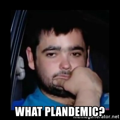 just waiting for a mate - What Plandemic?