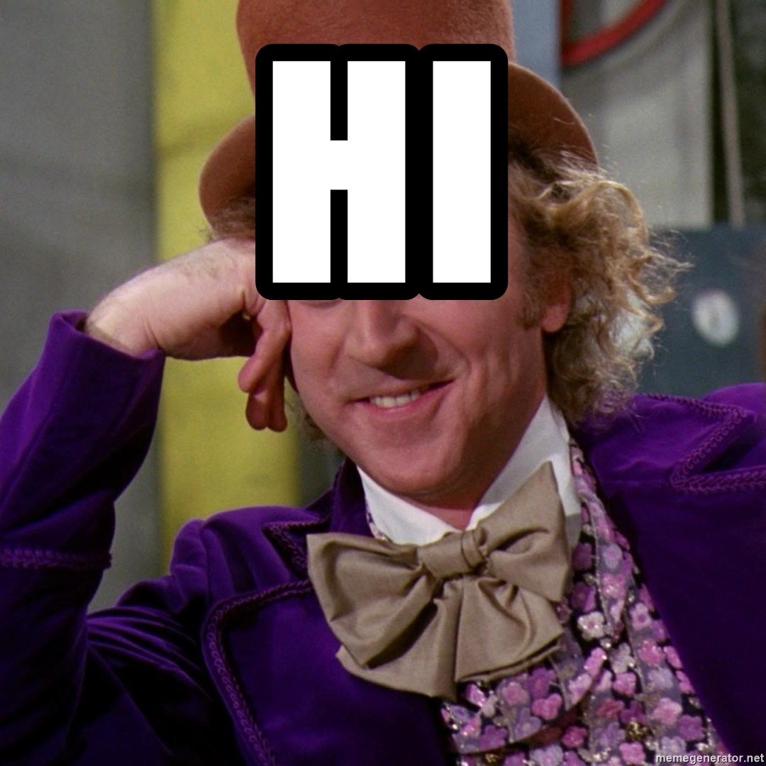 Willy Wonka - hi